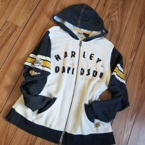 Harley-Davidson Zip up Sweater Hoodie
